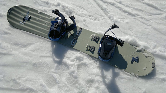 How to make an old Snowboard into a Splitboard
