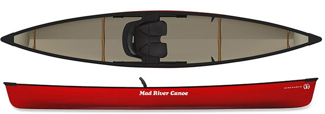 Mad River Serenade 13 Canoe Kayak Hybrid
