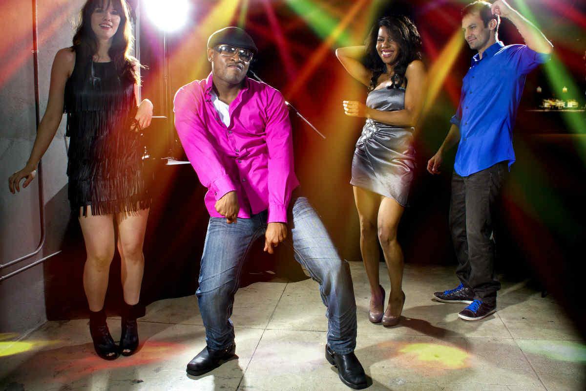 Cool people dancing
