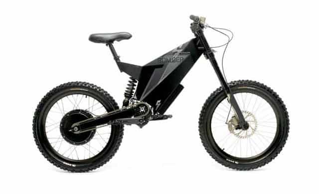 Stealth Bomber e-bike