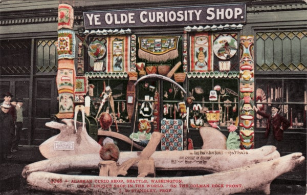 Ye Olde Curiosity Shop Seattle - Much Awesome