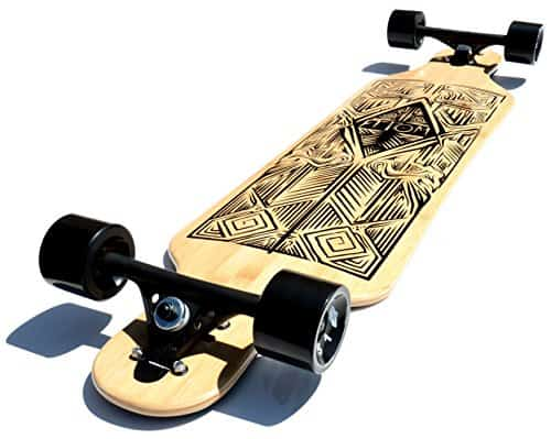 drop-through-long-board