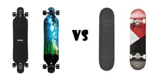Longboard vs Skateboard