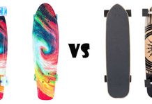 Penny board Vs Long board
