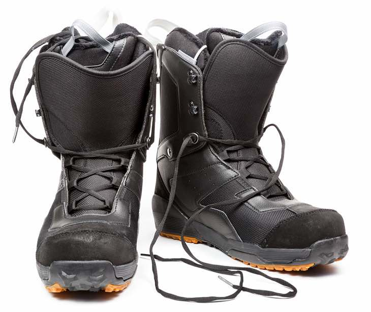 Traditionally Laced Snowboading Boots