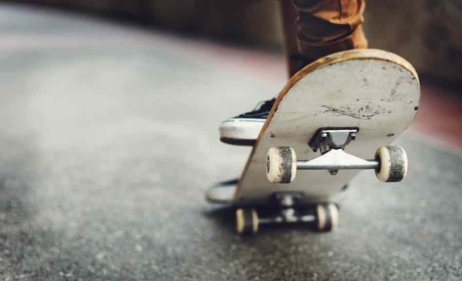 Longboards vs Skateboards: Skateboard Photo