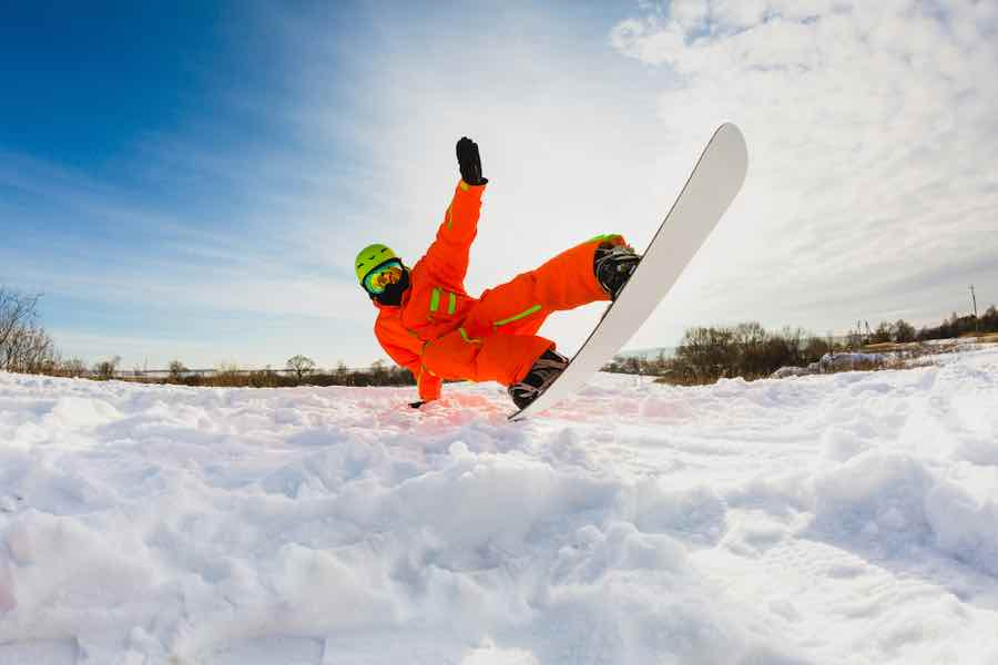Snowboarding Tailpress